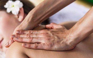 Hodinová sportovní nebo aromatická masáž