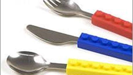 Stavebnicový příbor pro malé i velké nadšence, který je inspirován legendární stavebnicí LEGO jen za 219 Kč!