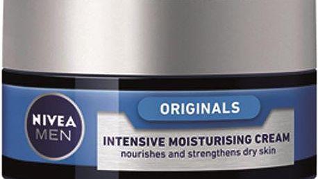 Nivea Intenzivní hydratační krém pro suchou pleť pro muže 50 ml