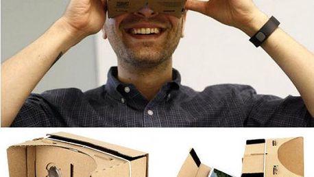 Papírové 3D brýle pro virtuální realitu