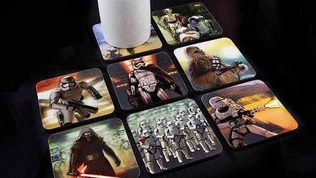 Holografické podtácky Star Wars 8 ks