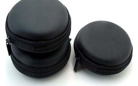Cestovní pouzdro na sluchátka - černá - dodání do 2 dnů