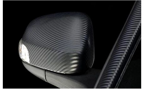 Karbonová folie 3D pro všestranné využití 127 x 100 cm