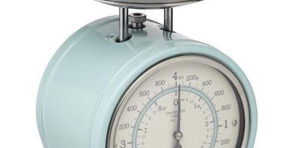 Kuchyňská váha Kitchen Craft Nostalgia, modrá, 4kg