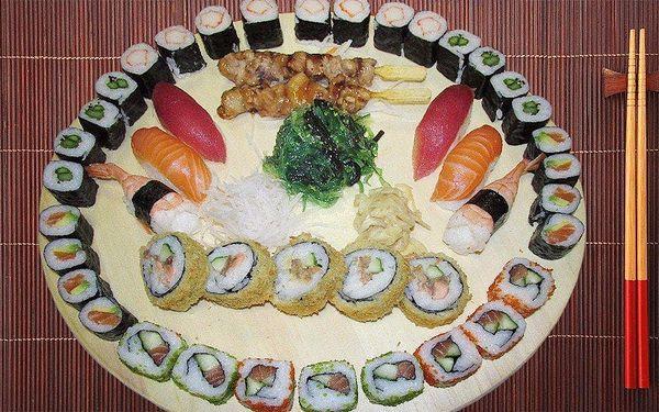 Japonské zahánění hladu: Sushi sety plné dobrot