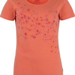 BJARNE dámské triko/krátký rukáv oranžová