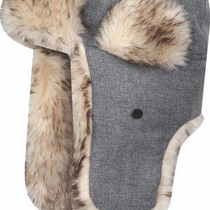 Zimní čepice ZIMINA1 šedá 55