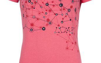 BJARNE dámské triko/krátký rukáv růžová