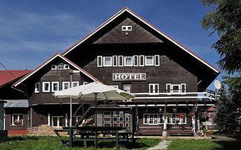 3–6denní pobyt se snídaněmi pro 2 v hotelu U Červené lišky v Krušných horách