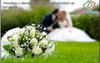 Dárkový poukaz 60x40 cm - Svatba