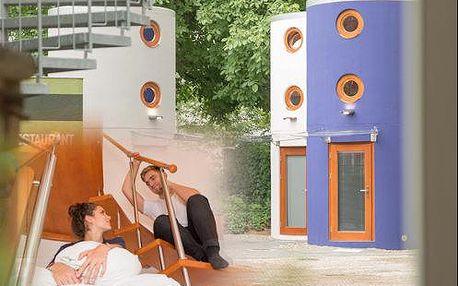 Netradiční pobyt v hotelových věžičkách v Berlíně