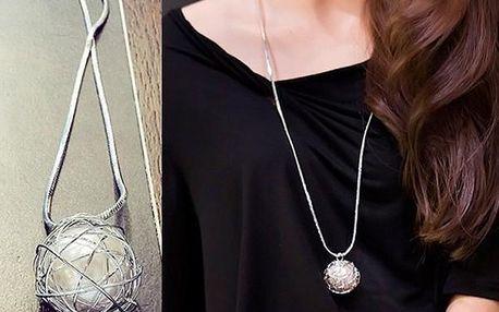 Dámský náhrdelník - uvězněná perla