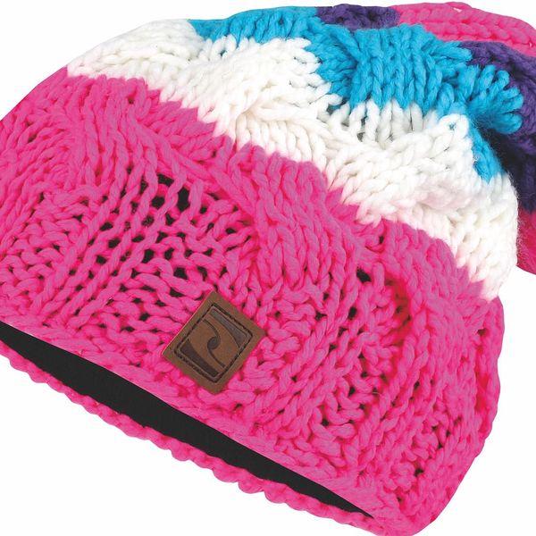Zimní čepice ZIVA1 růžová 52