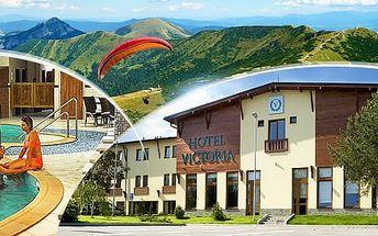 Slovensko, Malá Fatra až na 4 dny pro dva ve 4*hotelu: polopenze, wellness, pivní koupel