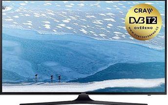 Televize Samsung UE50KU6072 černá + Doprava zdarma