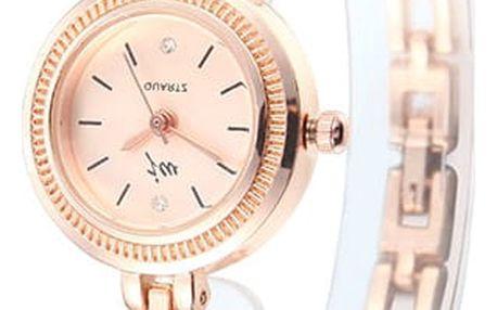 Dámské hodinky se zdobenými květy - 4 varianty