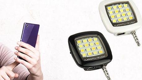 Externí LED blesk na mobil