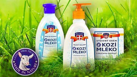 Kosmetický balíček z kozího mléka