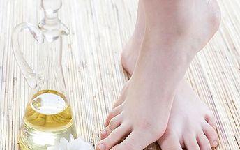 Pedikúra s masáží chodidel zdarma v salonu Veronika. Ošetření přípravky firmy Callusan.