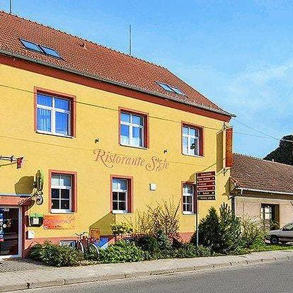 3 až 6denní pobyt s polopenzí pro 2 v penzionu Villa Sole nedaleko Brna