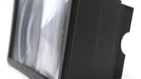 3D zvětšovač displeje u mobilního telefonu