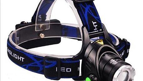 Voděodolná LED čelovka