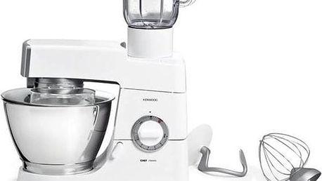Kuchyňský robot Kenwood Chef KM336 bílý/nerez + Doprava zdarma