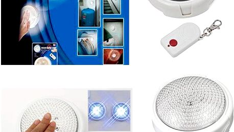 LED světlo na dálkové ovládání