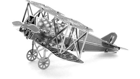 Letadlo Fokker - 3D puzzle