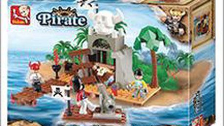 Stavebnice Sluban, báječná hračka pro ty nejmenší. Pořiďte dětem krásnou pirátskou stavebnici!