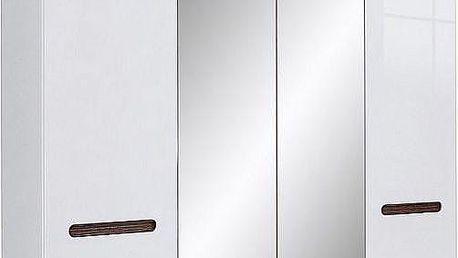 Šatní skříň se zrcadlem Bradbury 3 - DOPRAVA ZDARMA!