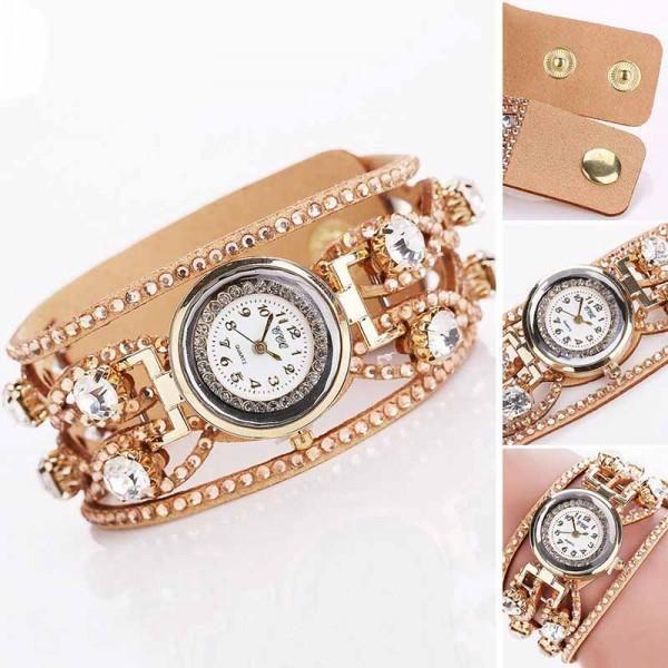 Vícevrstvé hodinky pro dámy - 9 barev - poštovné zdarma