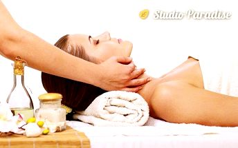 50minutová zdravotní, sportovní nebo konopná masáž v ostravském studiu Paradise