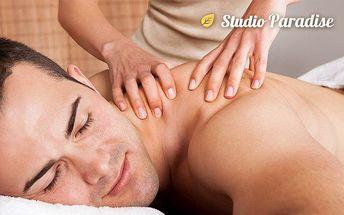 60minutová senzuální masáž ve studiu Paradise v Ostravě