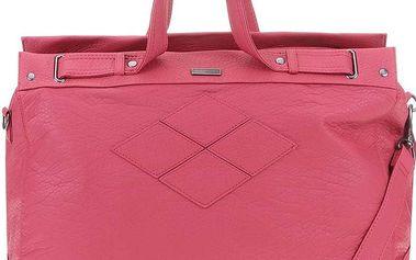 Růžová větší kabelka Roxy Gleefully