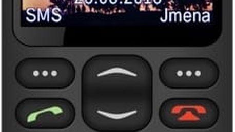 Aligator A880 GPS Senior Black + Nabíjecí stojánek