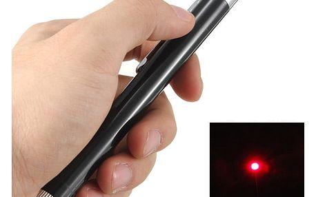Laserové ukazovátko s červeným paprskem - dodání do 2 dnů