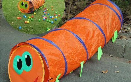 Přenosný prolézací tunel pro děti