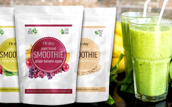 Zdravá snídaně: lahodné proteinové smoothie