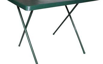Stůl SportTeam skládací zelený
