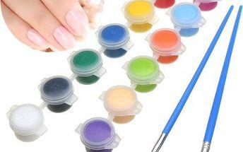 Sada pigmentových barev - 12 kusů