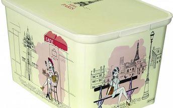 Úložný box DecoBox - L - Miss PARIS CURVER