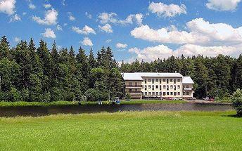 3–6denní wellness pobyt pro 2 s polopenzí na Vysočině v hotelu Renospond