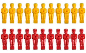 Náhradní figurky na fotbálek 22 ks