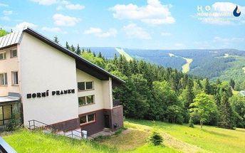 Špindlerův Mlýn s polopenzí a saunou