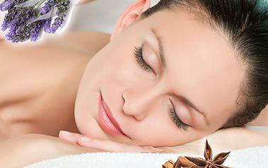 Levandulová nebo skořicová masáž celého těla v délce 90 minut v salonu Regina v Plzni.