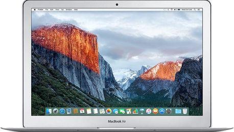 Notebook Apple MacBook Air 13 (MMGF2CZ/A) stříbrný + Doprava zdarma