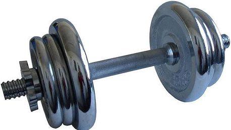 Činka nakládací, jednoruční, chromová - 11 kg