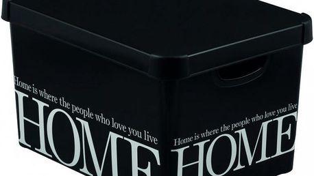Plastový úložný box DECO -L - HOME CURVER