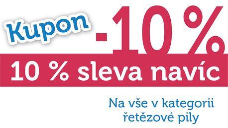 Extra sleva 10% na všechny řetězové pily!